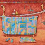Koupel se snídaní